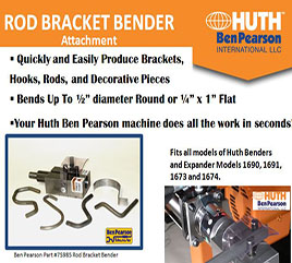 Huth Rod Bracket Bender