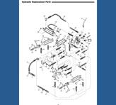 BP Models BPC-09, BP-08 & BPC-12, BP-11 Hydr Parts