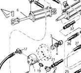 Huth Bender Hydraulic Parts Breakdown