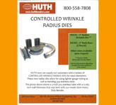 Huth Controlled Wrinkle Die