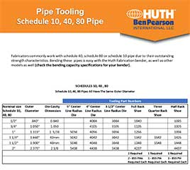 Common Pipe Tooling