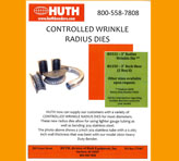 Huth Model 2600 Control Wrinkle Die