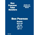 BP Manual Models BPC-09, BP-08 & BPC-12, BP-11