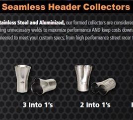 Seamless Header Collectors