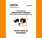 Huth Expander Model 1685 Operations Manual