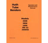 Huth Bender Operations Manual