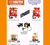 Huth Expanders Models 1673 / 1674 / 1685 / 1690 / 1691