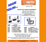 Huth Square Tooling