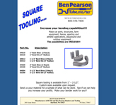 Ben Pearson Square Tooling