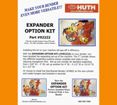 Huth Expander Option Kits