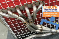 Huth Seamless Exhaust  Header Collectors