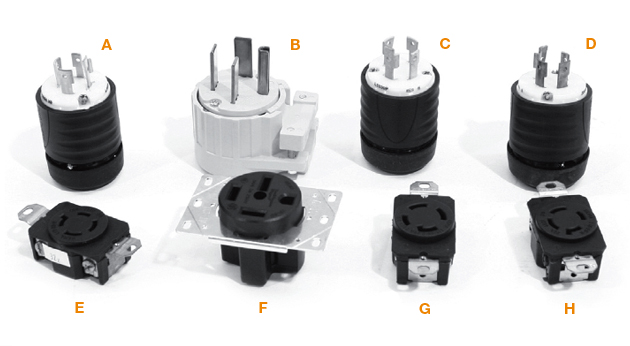 Three-Phase Plugs and Cords