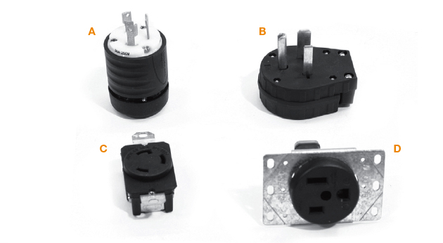 Single-Phase Plugs and Cords