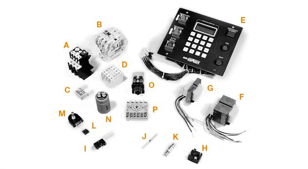 Controls - Model 2100 (Vintage Models)