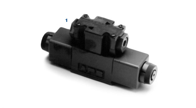 Directional Valve for Models BPC-09, BP-08 & BPC-12, BP-11