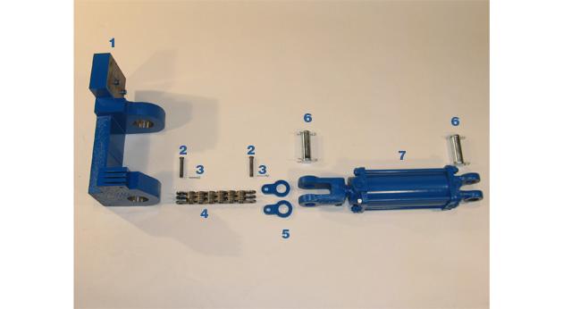Pivot Arm Support Cylinder - Model BPC-09