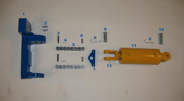 Pivot Arm Support Cylinder (Back Pressure) - Model BP-79