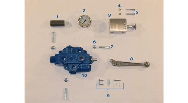 Valves and Gauges - Model BP-79