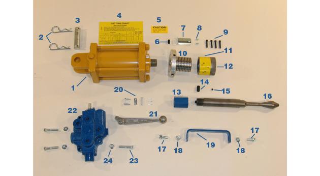 Expander Cylinder - Models MC-59 and MC-59HS