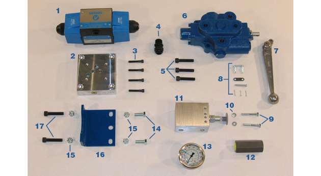 Hydraulic Valves/Gauges - Models MC-59 and MC-59HS