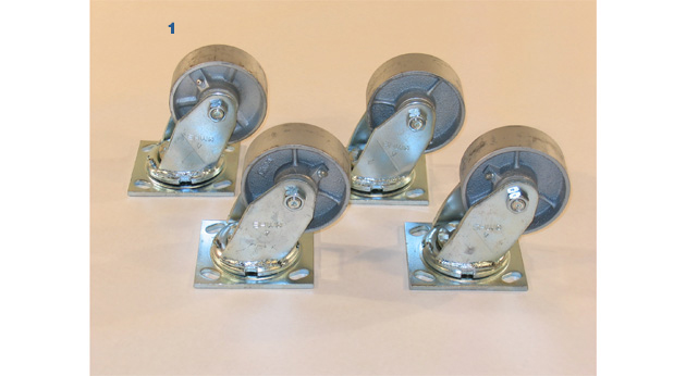 Casters for Model BPC-09, BP-08 & BPC-12, BP-11