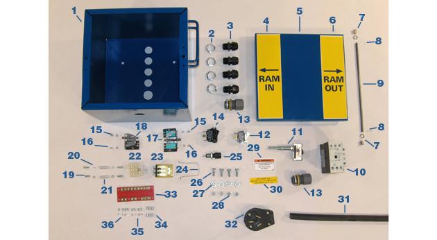 Control Box - Models MC-59, MC-59HS, and MB-97