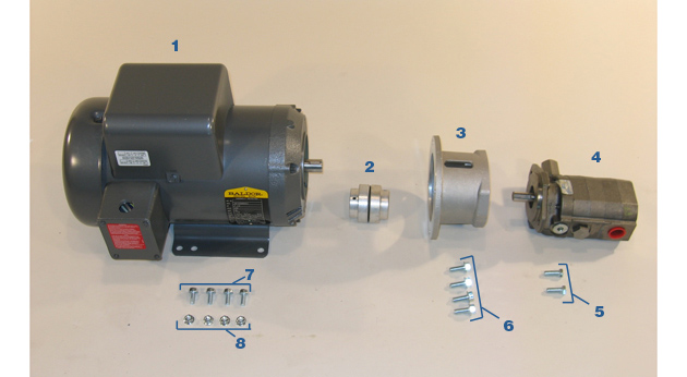 Motor and Pump - Model MC-59HS
