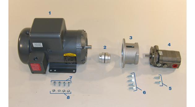 Motor and Pump - Model MC-59HS